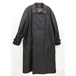 London Fog Commuter Collection Trench Coat 46 Long